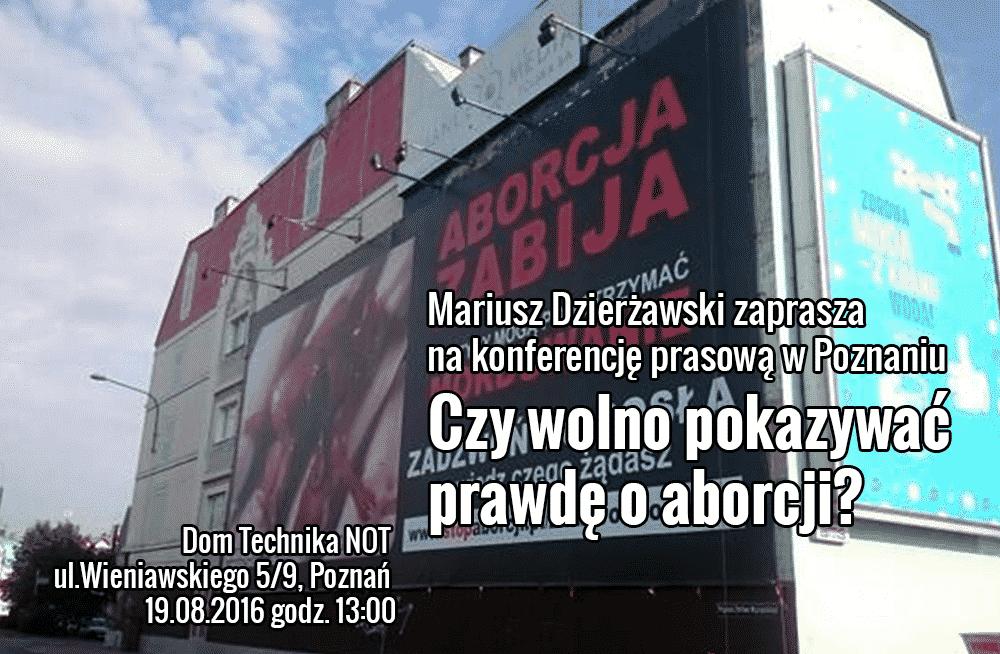 Konferencja prasowa w Poznaniu