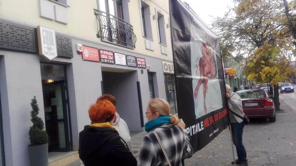 Stop aborcji! Jesteśmy za życiem – pikieta w Bełchatowie