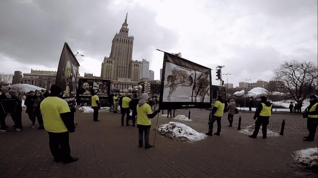 Obnażyć hipokryzję Owsiaka! – pikieta warszawskiej komórki podczas Finału WOŚP