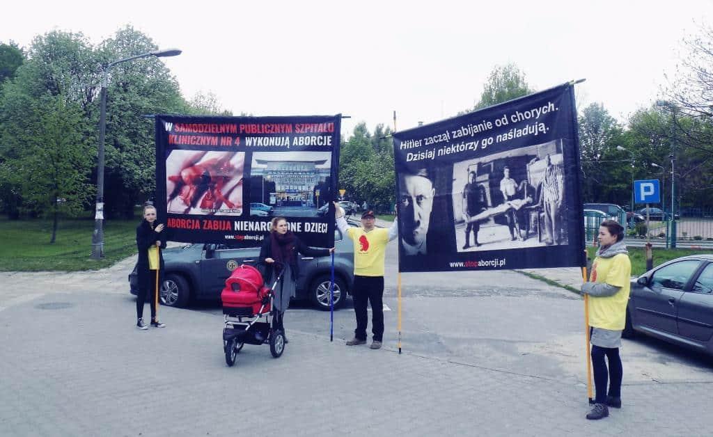 Żołnierze z pierwszej linii frontu nie narzekają na brak wrażeń! – pikieta w Lublinie