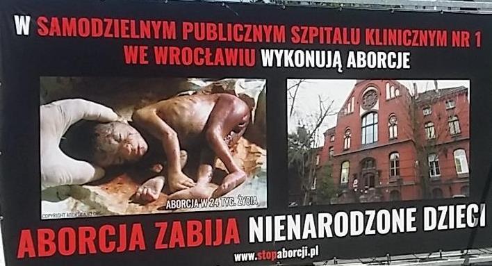 Pikieta pod Samodzielnym Publicznym Szpitalem Klinicznym we Wrocławiu