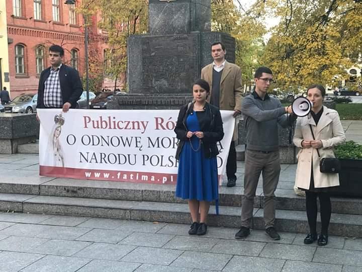 Różaniec w Bydgoszczy – uwaga! Zmieniamy miejsce